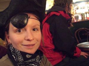 Pirates in the pub