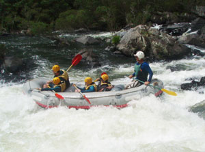 Rafting the Numboida River - photos by Cara Kellogg