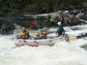 Rafting the Numboida River - photos by Cara Kellogg