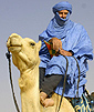 The Author in the Sahara.
