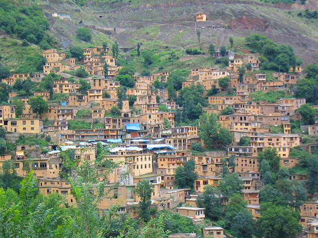 The village of Masuleh in northern Iran - photo by Troy Nahumko