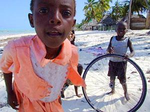 Children in Jambiani