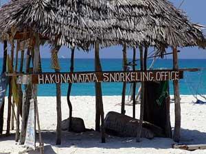 The Hakunamatata Snorkeling Office