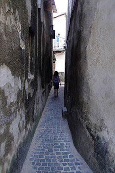 An alley in Stone Town