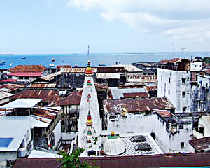 View of Stone Town