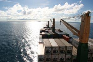 Freight cruise voyage underway. photo: Andrew Horsman.