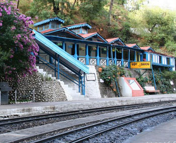 Barog Station can be very peaceful and quiet, too.