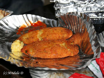 The cutlets in Barog are good!