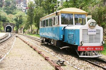 The rail car