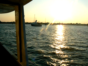 Afternoon on the Isis, docked in Edgartown Harbor. photos by Max Hartshorne.