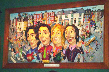 Abbey Road 3D picture! You weren't allowed to take pictures of the bands, which is really too bad.