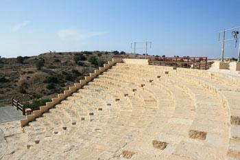 The amphiteatre at Kuron
