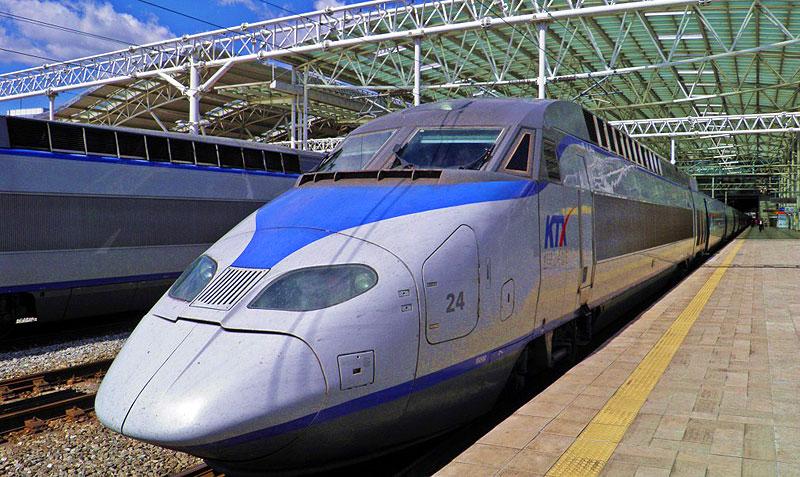 The South Korean bullet train