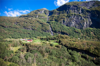 View from the train to Oslo. Paul Shoul photo.