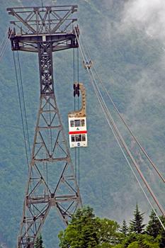 Shin Hodaka ropeway