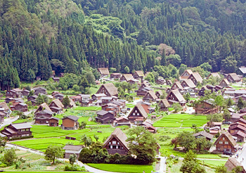 Village of Shirakawa Go