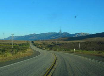 Highway One near San Simeon