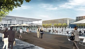 Berlin Brandenburg Airport will open in 2016.