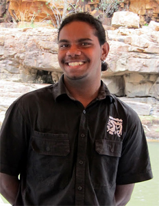 Dion, an indigenous guide for Nitmiluk Tours.