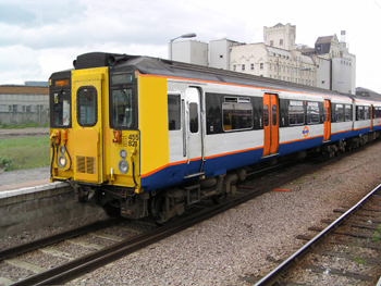 The London Overground is a great mode of transportation.