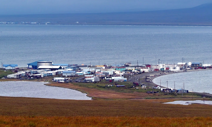 Inupiaq community near Nome, Alaska. photos by Ron Mitchell.
