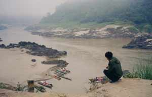 River in Laos. photos by Tim Leffel.