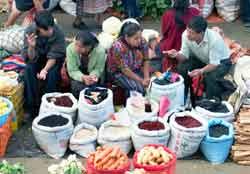 Market at Chichicastenango.
