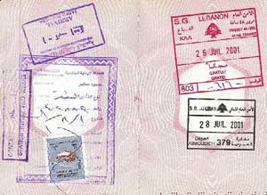 Israel, Morocco, and Tunisia do not require visas for short visits. Most other Middle Eastern and North African countries do. Photo courtesy of ddpn.net