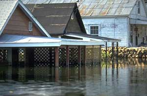 Some insurance policies provide coverage if your home becomes uninhabitable - photo courtesy of cstx.gov