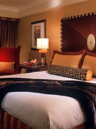 A room at the Hotel Marlowe
