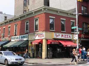 Joe's Pizza on Bleeker Street.