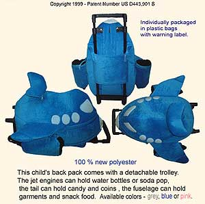 The Jet Plane Backpack