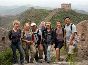 G.A.P Adventures has many tours that visit the Great Wall of China.