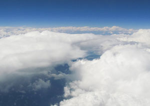 Because of pressurized cabins, altitude sickness rarely occurs during air travel.