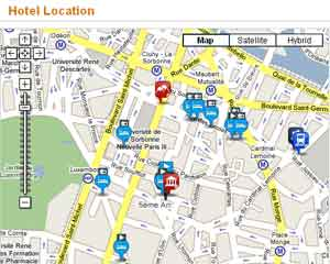 TVTrip also provides maps and information about local attractions.