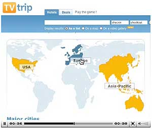 TVTrip has plans to add new countries to their list.