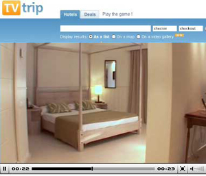 TVTrip provides independently made videos of hotels, both rooms and public areas.