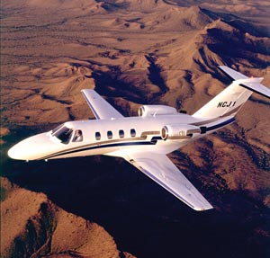 Cessna Citation jet, one way to get medevaced out of a country. Medjet medical transport