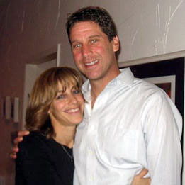 Steve Belkin with his wife Julie