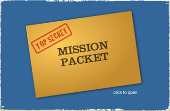 A sample daily mission packet