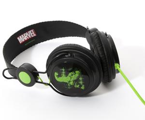 Coloud Marvel Comic Headphones in Hulk