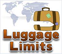 Luggage Limits