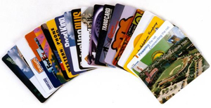 Phone cards are available for every country in the world.