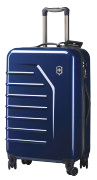 In addition to world-famous Swiss army knives, Victorinox manufactures durable luggage.