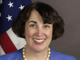 At the State Department, Brenda Sprague advocates for the new twitter feed, @TravelGov