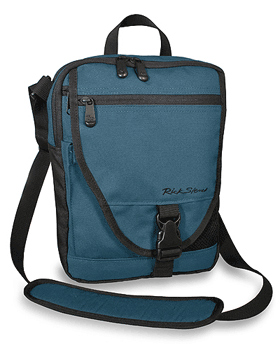Veloce guide bag, perfect for carrying an iPad or a camera with changeable lenses.