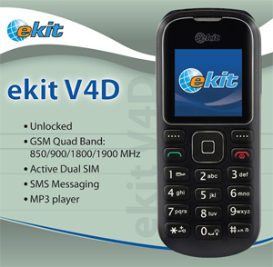 A Telestial global cellphone that's unlocked.