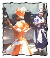Espiritu ceremony in Cuba.