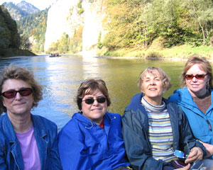 Women travelers of all ages enjoy traveling with Sights and Soul Travel.