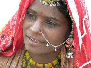 A Jaisalmer desert woman